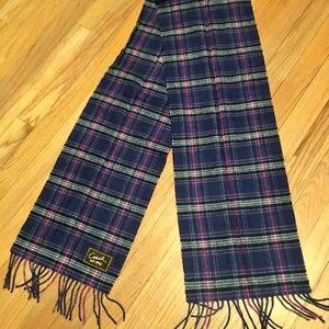 Coach plaid scarf 🧣